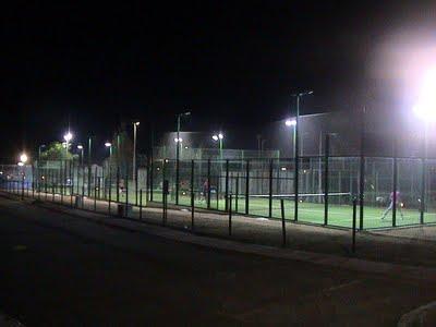 Casa Flores in Cala Egos - near Cala D'or Mallorca: New Tennis courts in Cala Egos, near Cala d'Or